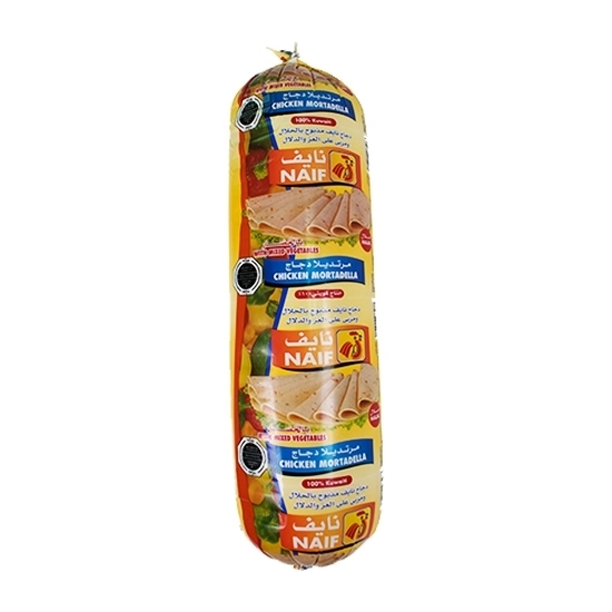 Picture of Naif Vegetables Chicken Mortadella Roll ( 3 KG * 1 Roll )
