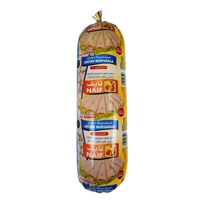 Picture of Naif Mushroom Chicken Mortadella Roll ( 3 KG * 1 Roll )