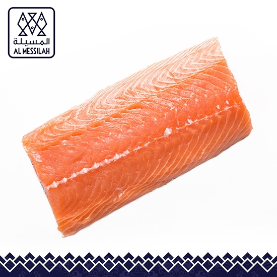 الصورة: سمك السلمون مجمد فيليه  بدون جلد حجم 900 وفوق معبأ 10 كيلو