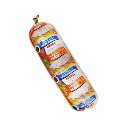 Picture of Naif Red & Green Pepper Chicken Mortadella Roll ( 3 KG * 1 Roll )