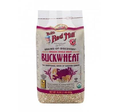 Picture of BRM BUCKWHEAT GROATS RAW (ORGANIC) 16 OZ