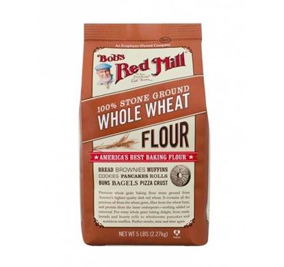 Picture of BRM 1OO% STONE GROUND WHOLE WHEAT FLOUR 5LB