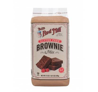 Picture of BRM BROWNIE MIX (GLUTEN FREE) 595 GM/ 21 OZ