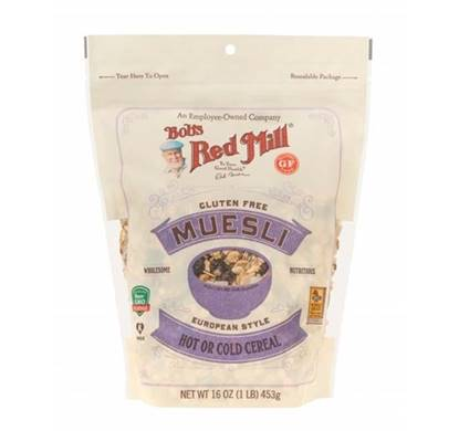 Picture of BRM MUESLI (GLUTEN FREE) HOT OR COLD CEREAL 453 GM 16 OZ