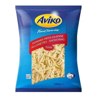 Picture of Aviko PF Julienne Frites 7*7 ( 4 Pouch * 2500 GM )