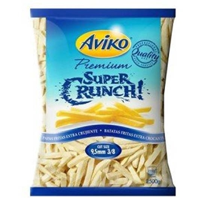 Picture of Aviko Super Crunchalt 9.5 Mm Skin On ( 4 Pouch * 2500 GM )