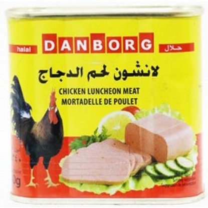 Picture of Danborg Chicken Luncheon Meat  ( 24 Cans * 340 GM )