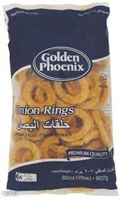 Picture of Golden Phoenix Frozen Onions Rings ( 8 Pouch * 907 GM )