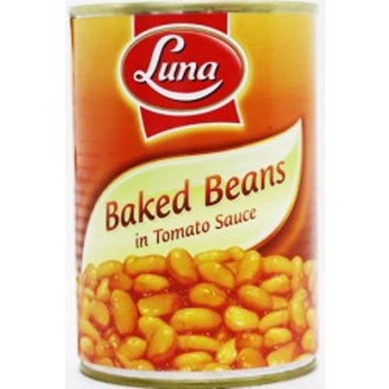 Picture of Luna Baked Beans In Tomato Sauce (STD) ( 24 Cans * 400 GM )