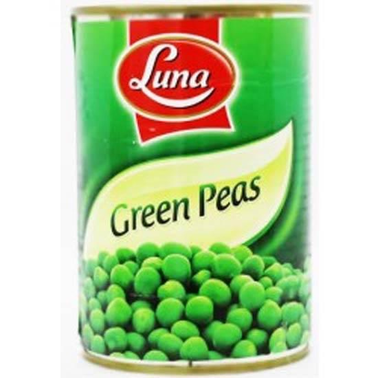 صورة بازيلاء خضراء لونا  ( 400 جم * 24 علبة )