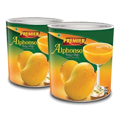 Picture of Premier Alfonso Mango Pulp Frozen ( 16 Pieces * 1000 GM )