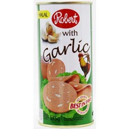 Picture of Robert Chicken Luncheon Meat With Garlic  ( 8 Cans * 575 GM )