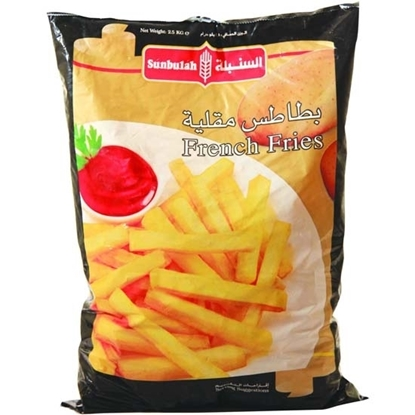 Picture of Sunbulah Frozen French Fries ( 4 Pouch  * 2500 GM )