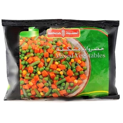 Picture of Sunbulah Frozen Mixed Vegetables  ( 12 Pouch  * 450 GM )