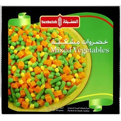 Picture of Sunbulah Frozen Mixed Vegetables ( 12 Pouch  * 900 GM )
