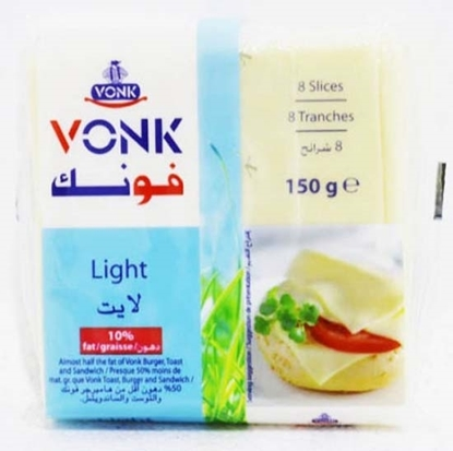 Picture of  Vonk Cheese Slices Light ( 40 Pieces * 150 GM )