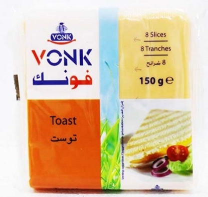 Picture of Vonk Cheese Toast Slices ( 40 Pieces * 150 GM )