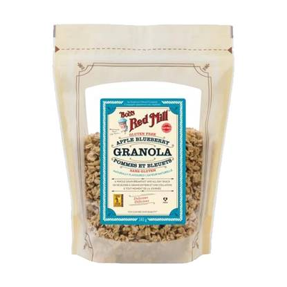 Picture of BRM GRANOLA APPLE BLUEBERRY (GLUTEN FREE) 340 GM 12 OZ