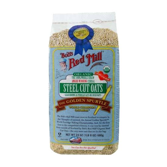 Picture of BRM Organic Steel Cut Oats 24 OZS