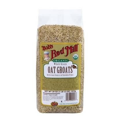 Picture of BRM Organic Oats Whole Groats 29 OZS