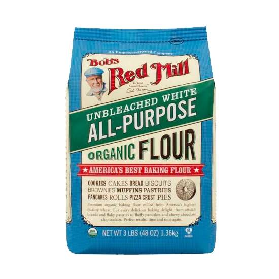 Picture of BRM UNBLEACHED WHITE ALL PURPOSE FLOUR (ORGANIC) 1.36 KG