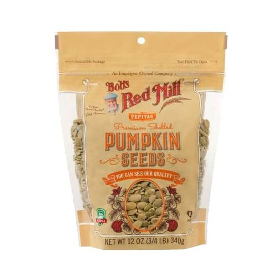 Picture of BRM Organic Pumpkin Seeds 12 oz