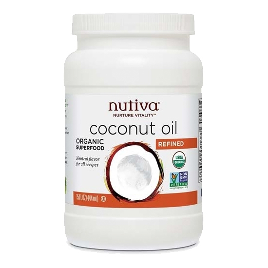 Picture of Nutiva Organic Refined Coconut Oil
