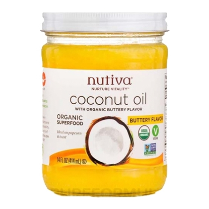 Picture of Nutiva Buttery Coconut Oil