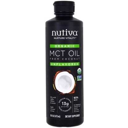 Picture of Nutiva Organic MCT Oil 16 Oz*6