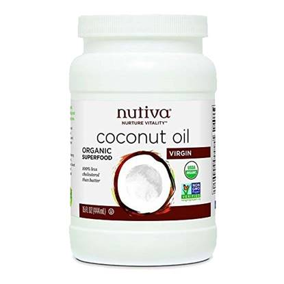 Picture of Nutiva Organic Virgin Coconut Oil  15 oz
