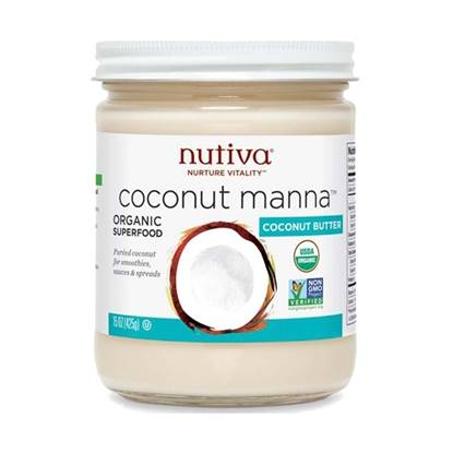 Picture of Nutiva Organic Coconut Butter Manna 425 GM 15 oz