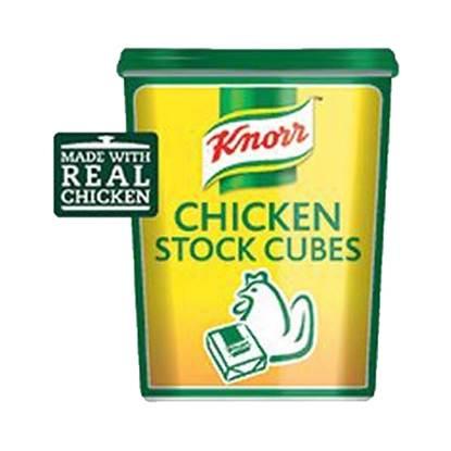 الصورة: مكعبات مرقة الدجاج كنور ٦×١٢٠×٨ جم