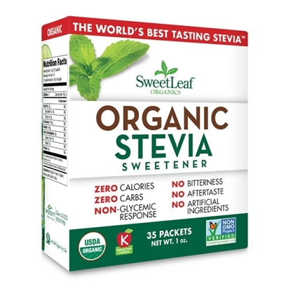 Picture of Sweet Leaf Stevia Organic 35 Ct 1oz*12