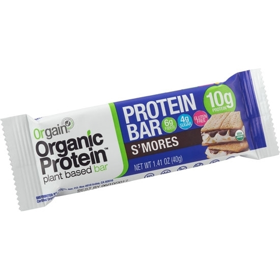 Picture of Orgain Organic Protein Bar Smores Singles 1.41 Oz *72