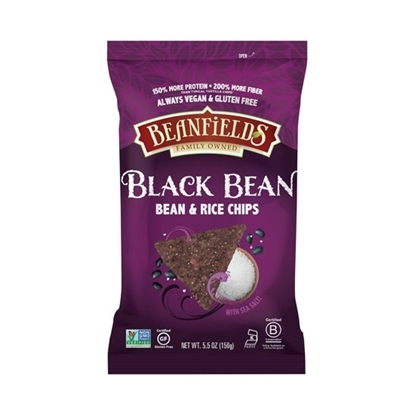 Picture of Beanfields Black Bean With Sea Salt ( 5.5 OZs *6 )