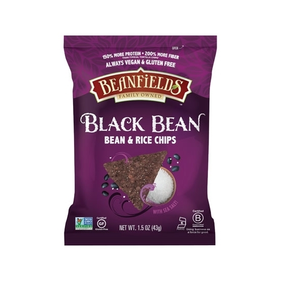 Picture of Beanfields Black Bean With Sea Salt (1.5 OZs *24 )
