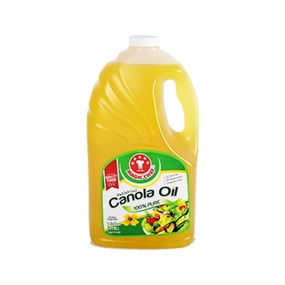 Picture of MAGIC CHEF CANOLA OIL  6 X  3.78 Lt.