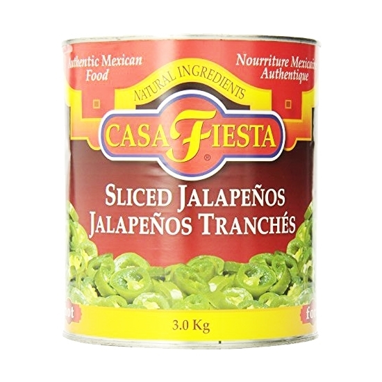 Picture of CASA FIESTA NACHO JALAPENO SLICED 2.830 KG