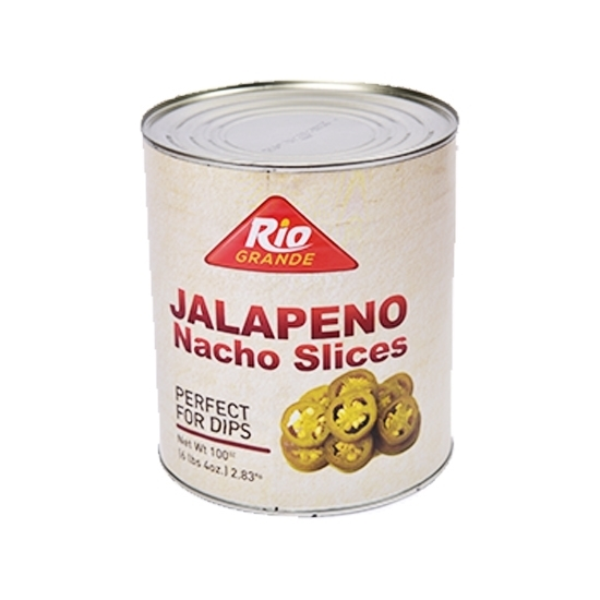 Picture of Jalapeno sliced Rio Grande  6 * 2.83 Kg-