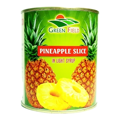 Picture of Green Fields PINEAPPLE SLICES IN SYRUP  6 X 3050 KG