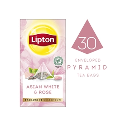 Picture of Lipton Asian White & Rose (6x30 pyramid tea bags)