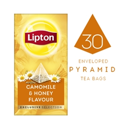 Picture of Lipton Camomile & Honey Flavour (6x30 pyramid tea bags)