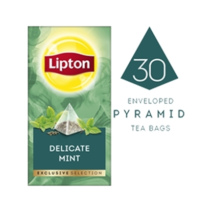 Picture of Lipton Delicate Mint (6x30 pyramid tea bags)
