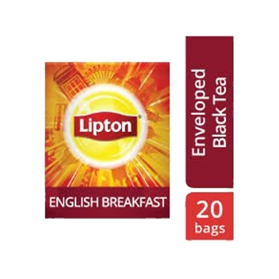 صورة ليبتون شاي الإفطار الإنجليزي ١٦×٢٠ ظرف