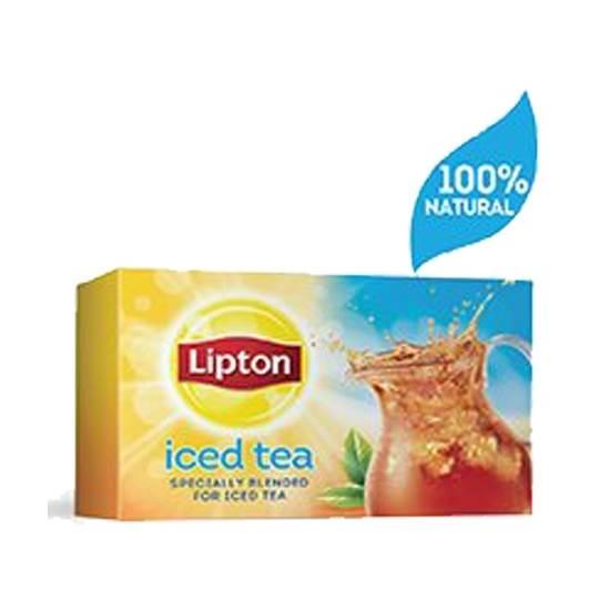 صورة ليبتون شاي أسود مخصص للشاي المثلج ٤×٢٤ ظرف