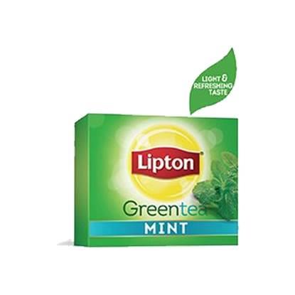 الصورة: ليبتون شاي أخضر بالنعناع ١٢×١٠٠ ظرف
