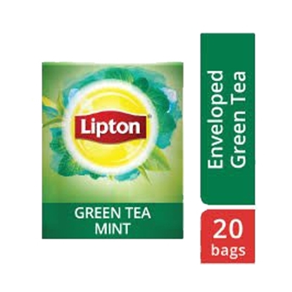 Picture of Lipton Green Tea Mint (16x20 teabags)