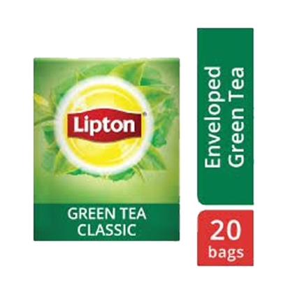 Picture of Lipton Green Tea Pure (16x20 teabags)