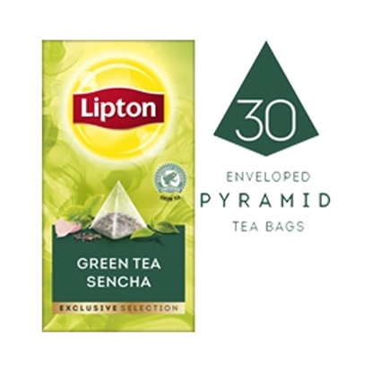 Picture of Lipton Green Tea Sencha (6x30 pyramid tea bags)