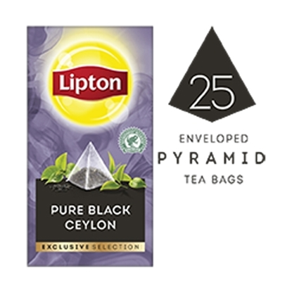 Picture of Lipton Pure Black Ceylon (6x25 pyramid tea bags)